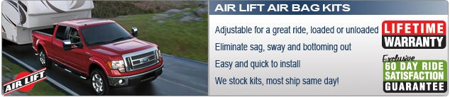 Air Lift Air Bags and Air Spring Kits
