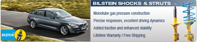 Bilstein Shocks and Struts for Cars