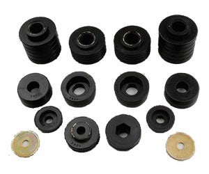 Energy Suspension Body Cab Mount Set - Mounts and Hardware Only - Black  4.4110 - ENE4.4110G