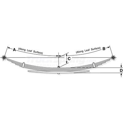 Ford Pickup Replacement Leaf Spring