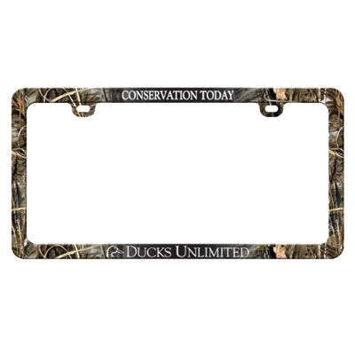 Ducks Unlimited License Plate Frame.