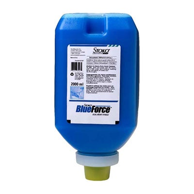 33540 Stoko Blueforce Hand Cleaner 2000 Ml Softbottle