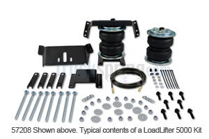 Air Lift Suspension Load Leveling Kit