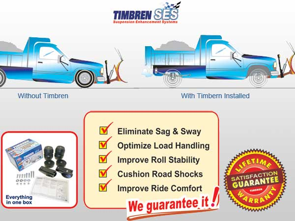 Timbren Snow Plow Kits