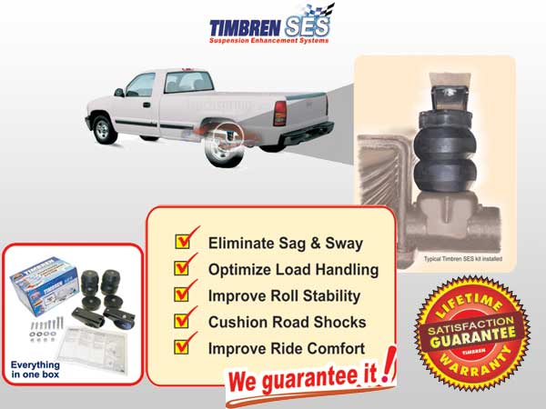 Timbren Rear Suspension Kits