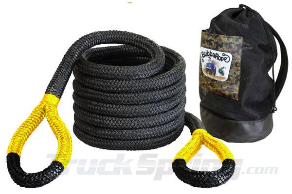 Big Bubba rope with gatorized yellow ends.