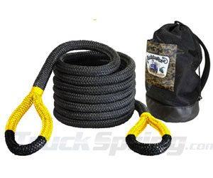 1-1/4 x 30 Big Bubba Tow Rope - Gatorized Yellow - 176720YWG