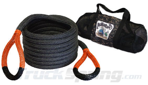 Bubba Rope with Gatorized orange ends.