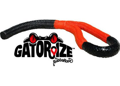 This Bubba rope comes Gatorzied Orange.