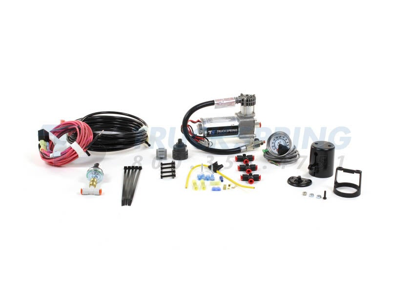 Air Lift Load Controller Air Compressor Kit | Single Path | Heavy Duty