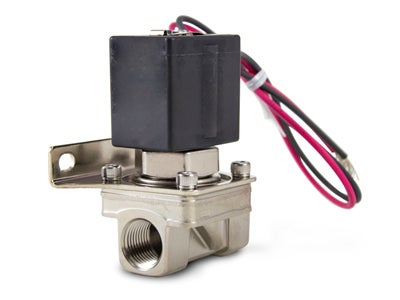 Air Lift 3/8 Inch Solenoid with Bracket AIL24410