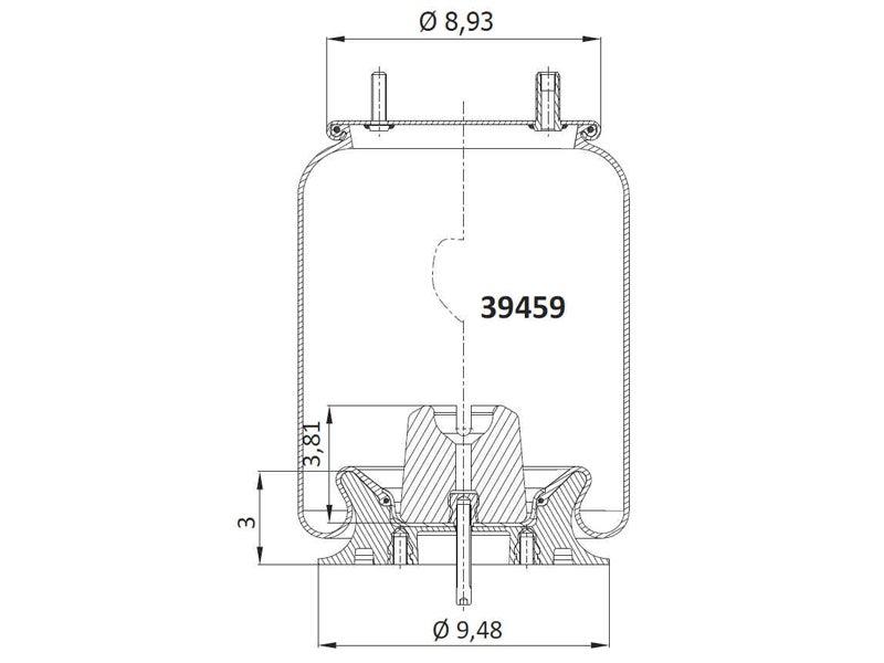 39459kpp airtech air spring replaces firestone w01