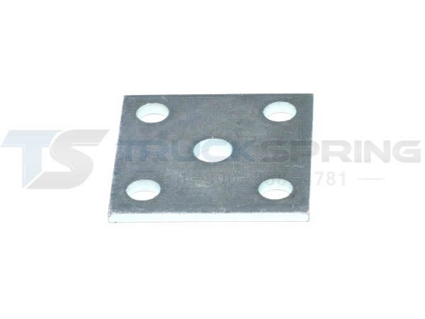 Tie Plate Zinc Coated 2 Inch Wide Spring Trailer Spring Tie Plate