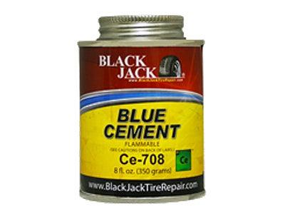 BlackJack Blue Cement - 8 oz. CE-708