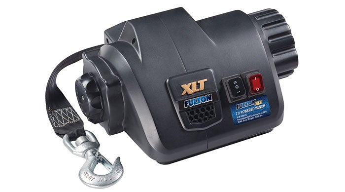 Fulton XLT Powered Boat Winches - New Product