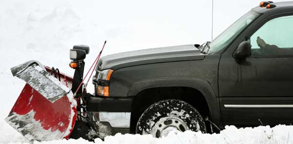 Does your snow plow make the front of your truck sag or nose dive?