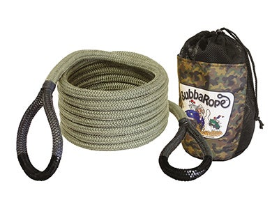 3/4 x 20 Bubba Tow Rope - Military Camo Green  176655BKG