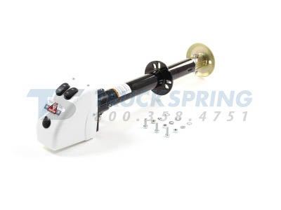 Bulldog A-Frame Electric Trailer Jack  3 500 lbs. Capacity-White - 500188