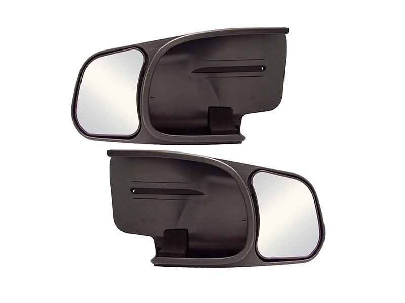 CIPA Slip on Towing Mirrors for the Chevy Silverado, Tahoe, Suburban,  Avalanche, GMC Sierra, Denali, Yukon XL, Cadillac Escalade - Pair