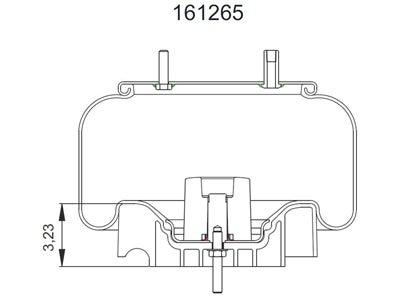 freightliner air bag suspension mini air bag suspension