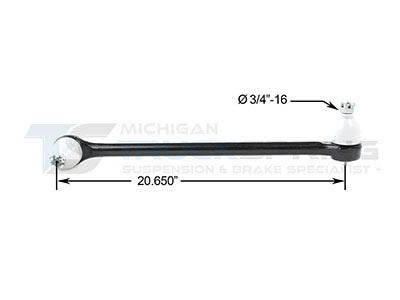 Chevrolet, GMC Drag Link - 20.65 Inches DS1216