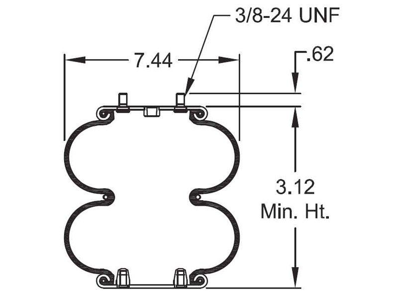 double cab truck diagram