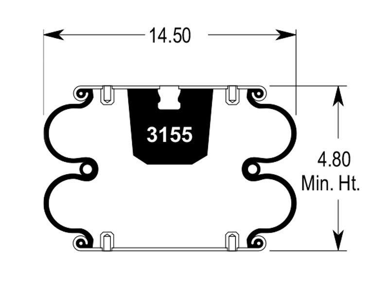 neway trailer suspension diagram