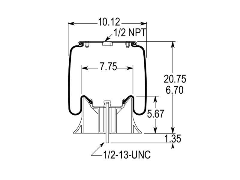 w01 358 9026 firestone airide air spring 1t15m 6 rh truckspring com