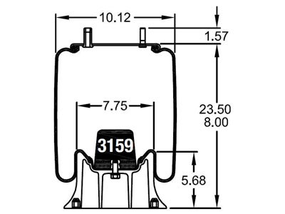 Firestone Reversible Sleeve Air Spring  W01 358 9580 further 2011 Ford F150 Blend Door Actuator Problems also Honda Cb750f2 Electrical Wiring Diagram likewise Kenworth Air Ride Suspension additionally F150 Front End Diagram. on trailer air ride suspension diagram
