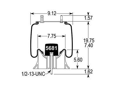Firestone Reversible Sleeve Air Spring W01-358-9295