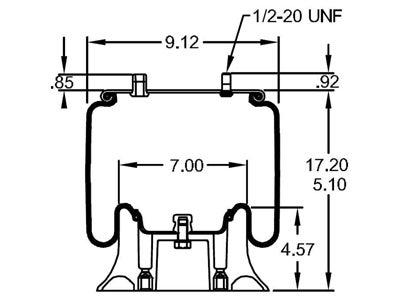 Firestone Reversible Sleeve Air Spring__W01 358 9652