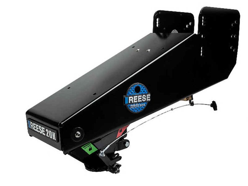 Fifth Wheel To Gooseneck Hitch >> Goose Box Fifth Wheel To Gooseneck Adapter 20 000 Lbs