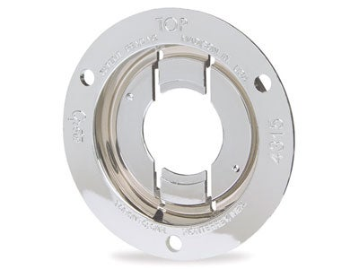 Theft-Resistant Mounting Flange for 2 Inch Round Lamps 43153