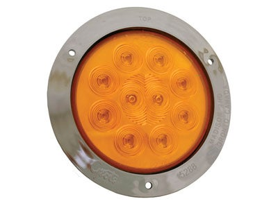 SuperNova 4 Inch 10-Diode Pattern LED Auxiliary Turn Lamp - Amber 53303