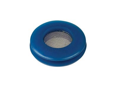 Gladhand Polyurethane Seal With Filter Screen - Blue 81-0113-100B