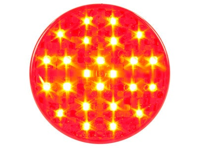 Hi Count 4 Inch LED Stop-Tail-Turn Lamp - Red G4002