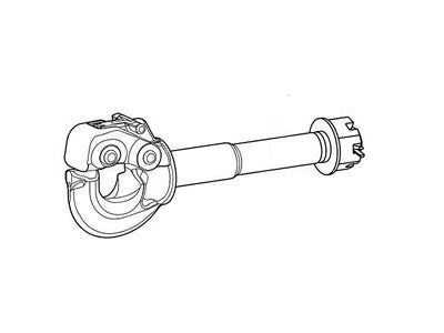 PH-30SA41 - Pintle Hook with spring shock absorption - 15 Ton GTW