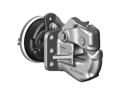 Holland Pintle Hook with FastLatch, 50 Ton PH-310RA21