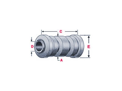 Rubber Leaf Spring Bushing RB-222