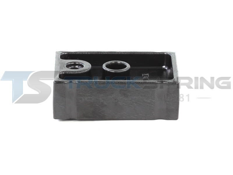 Spring Spacer - Aluminum | Kenworth | Front, 2 0 Inch High