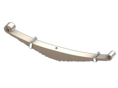 Ford L-Series Leaf Spring - 4,500 lbs. Capacity, Front 43-696