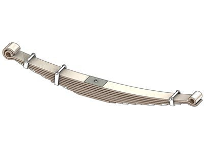 Freightliner Leaf Spring - 7,200 lbs. Capacity, Front 46-1250