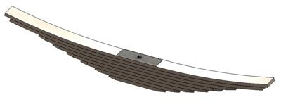 Freightliner Rear Leaf Spring | 8 Leaves | 30,000 lbs. Capacity 46-1355