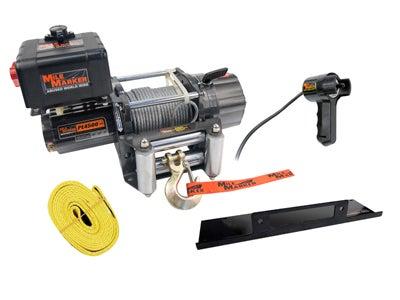 Mile Marker PE4500 Waterproof ATV Electric Winch - 12 Volt 76-50115BW
