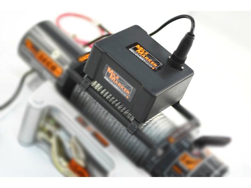 77-53141W, Mile Marker SEC8 Scout ES Electric 12 Volt Winch