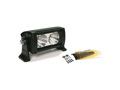 Led light bars from rough country and wurton wurton led off road light bar 5 inch 2 led spot beam 10 watt aloadofball Image collections