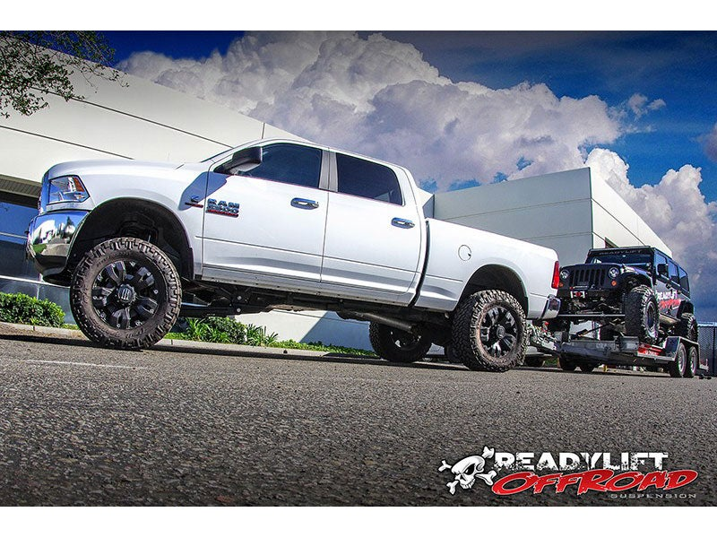 Ram 2500 Lift Kit >> Readylift 6 Inch Off Road Suspension Lift Kit With Shocks For The Ram 2500 4wd Black