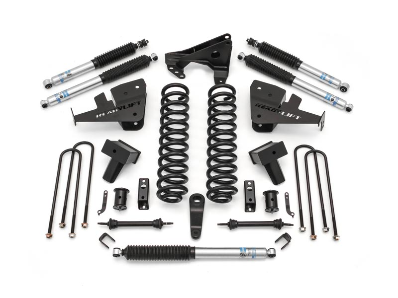 ReadyLift 5 Inch Coil Spring Lift Kit with Shocks for the Ford F-350 Super  Duty with Dual Rear Wheels