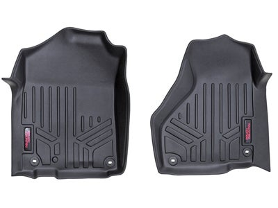 Rough Country Floor Mats for the Dodge Ram 1500, 2500, 3500 - Front RCM-3121