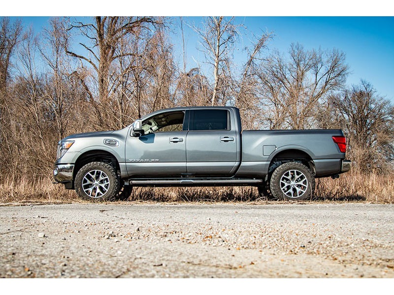 868 Rough Country 2 Inch Leveling Lift Kit For The Nissan Titan Xd